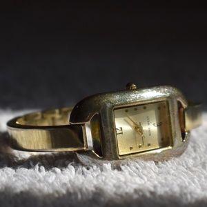 Vintage Nine West Bangle Cuff Bracelet Watch